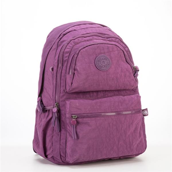 Outdoor Travel Waterproof Nylon Casual Multi Pockets Backpack School Bag