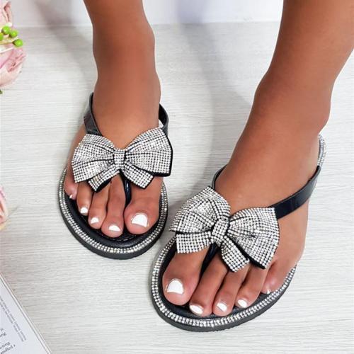 Bow Flip Flop Sandals