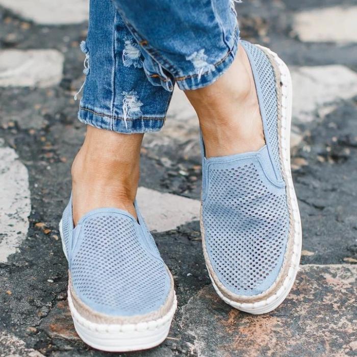 Women's Comfy Summer Slip-On Sneakers