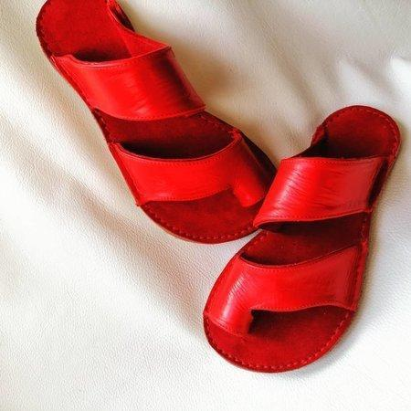 Party & Evening Artificial Leather Slippers