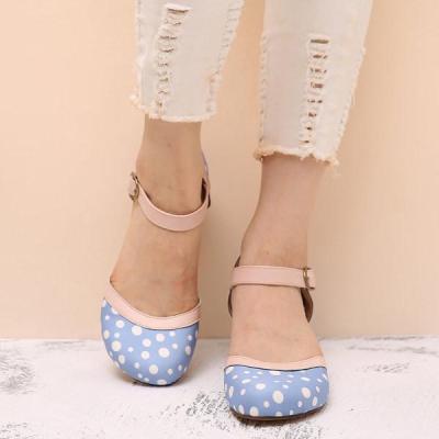 Women's buckle casual sandals