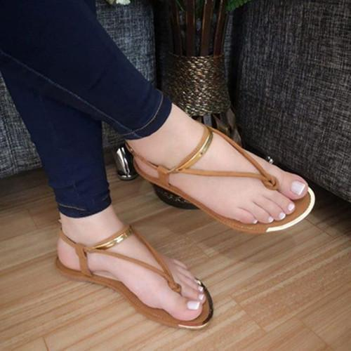 Women's fashion wild flat slippers