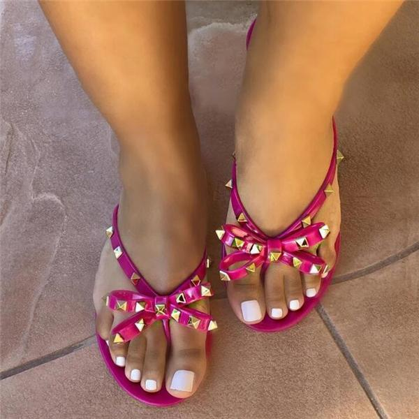 Summer Sweet Jelly Slippers