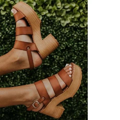 Pi Clue Casual Summer Sandals