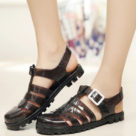 Lady's Garden Summer Style Comfortable Bling Sandals