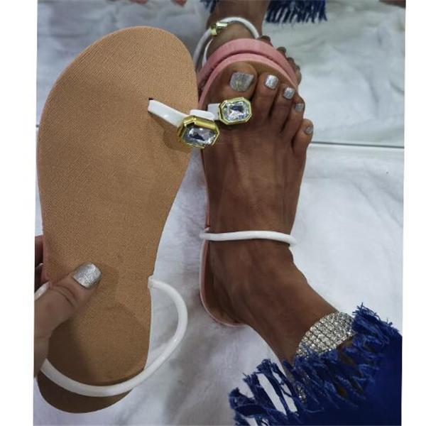 Women Summer Slip On Flat Sandals