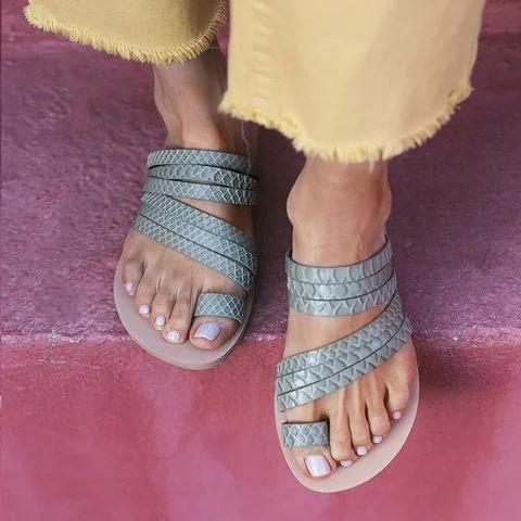 Summer Slip On Flat Sandals