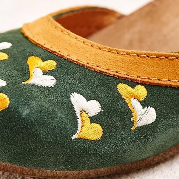 Women's buckle non-slip mid-heel sandals