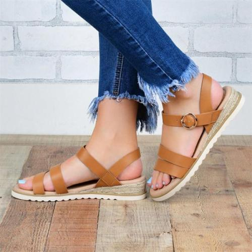 Women's fashion comfortable flat sandals