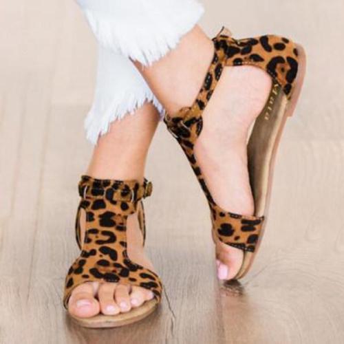 Women's Peop Toe  flat sandals