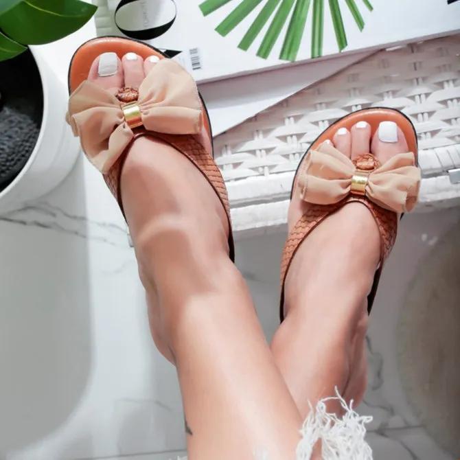 Flat Heel Sweet Sandals