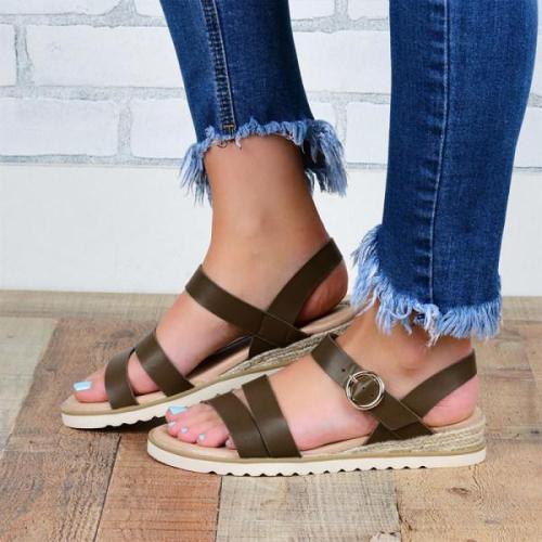 Women's fashion comfortable flat sandals