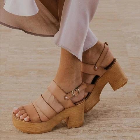 Pi Clue Casual Summer Sandals