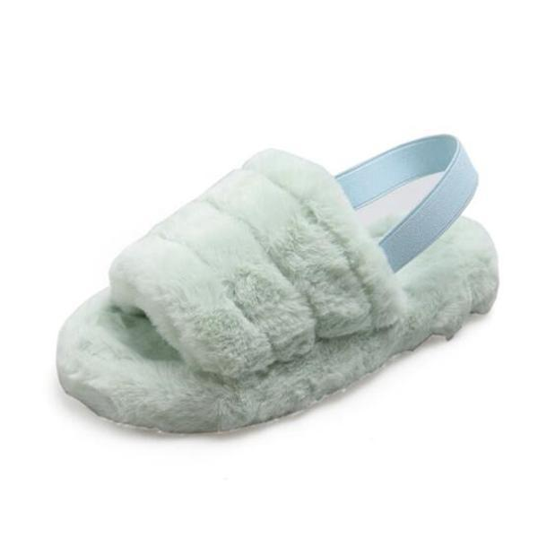 Hairy  Fur Comfortably Worn Home Slippers