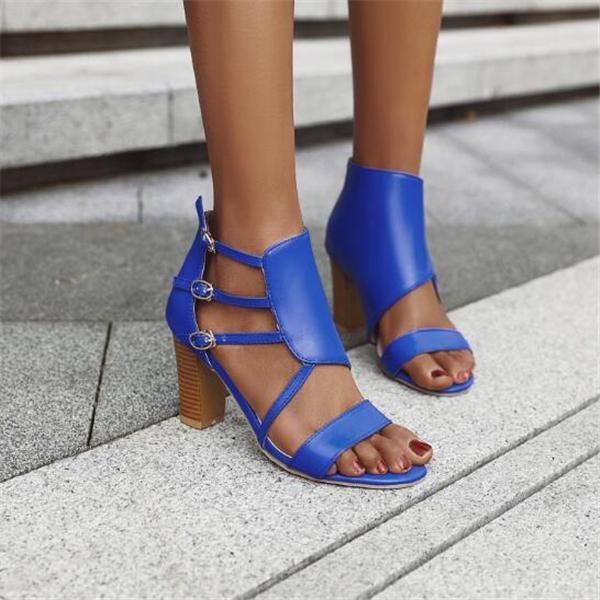Women Summer High Heel Sandals