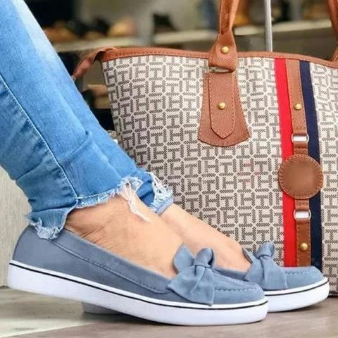 All Season Bow Loafers