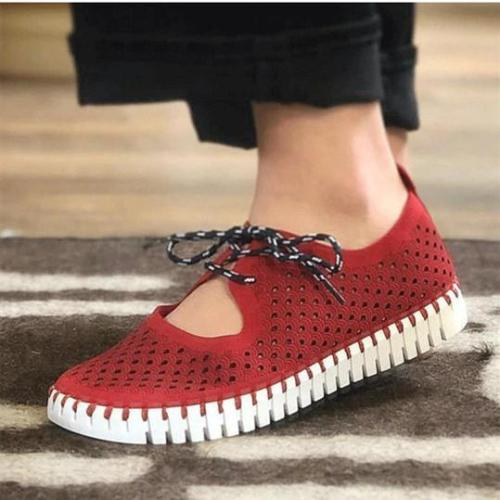Breathable Hollow Out  Mesh Loafers