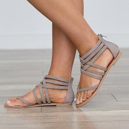 Large Size Hollow Out Rome sandals For Women