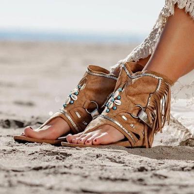 Stylish Suede Sandals