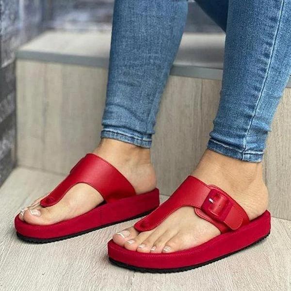Casual Slip On Flip Flops Slippers