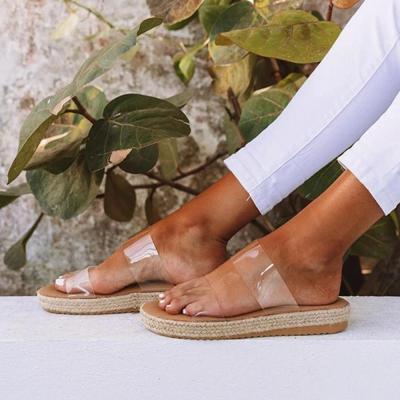 Womens Open Toe Espadrille Two-Strap Low Heel Sandals