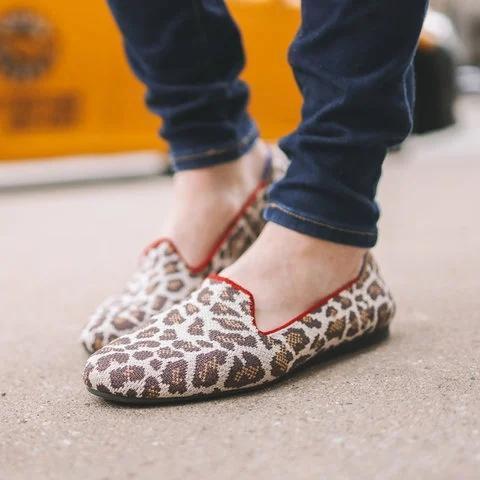 Flat Heel All Season Loafers