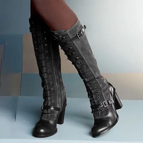 Women's Vintage Lolita Style Boots