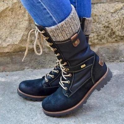 All Season Flat Heel Boots