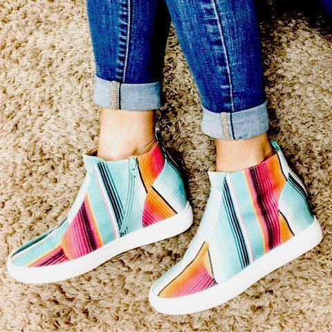 Color Block All Season Sneakers