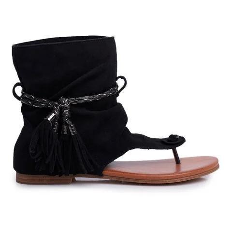 Women Flat Heel Comfy Sandals