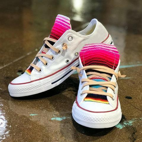 Women Casual Daily Rainbow Canvas Sneakers
