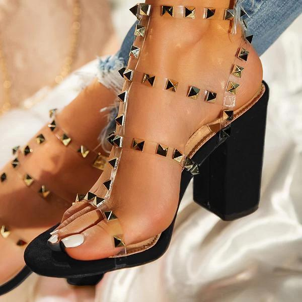 Single Sole Heel Sandals