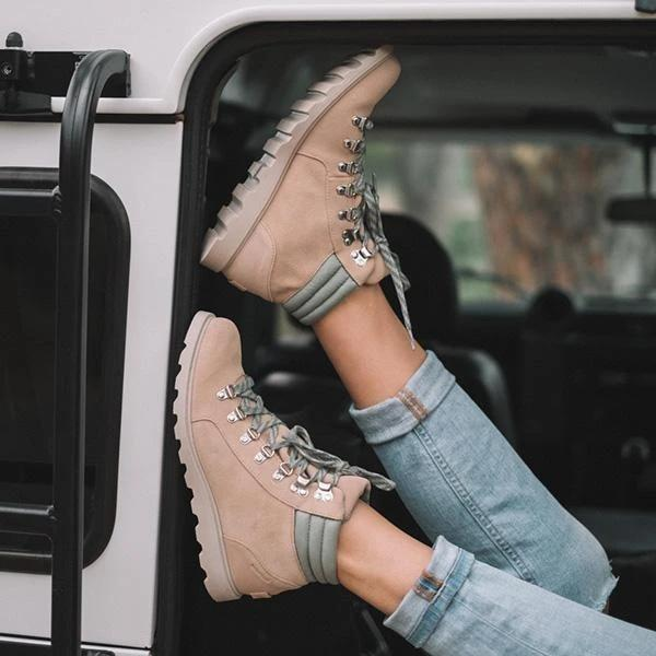 Outdoor Winter Outfit Boots
