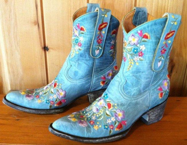 Block Heel Round Toe Slip-On Color Block Casual Boots