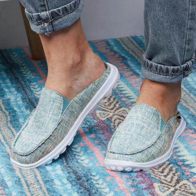 Women Casual Comfy Non-slip Slip On Loafers