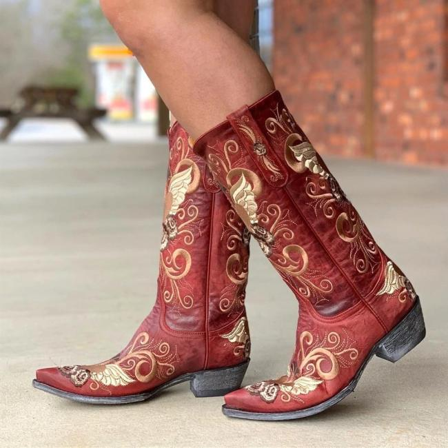 Vintage Slip On Daily Boots