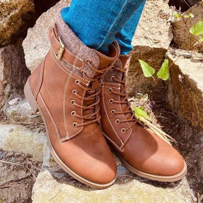 Date Block Heel Fall Boots