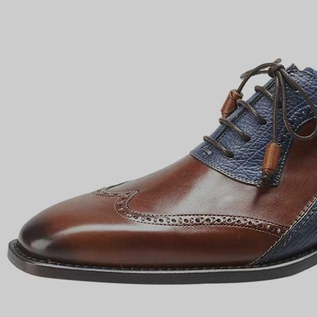 Low-Cut Upper Lace-Up Men's Dress Shoes