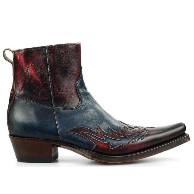 Winter Fashion British women Top Quality PU Leather Slip on Boots