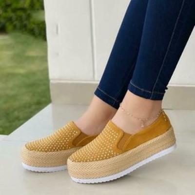 Women's  Tassel Round Toe Flat Heel Loafers