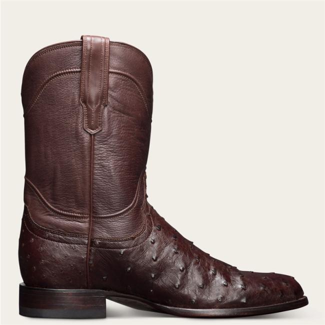 Men's Vintage Leather Exotic Roper Boots