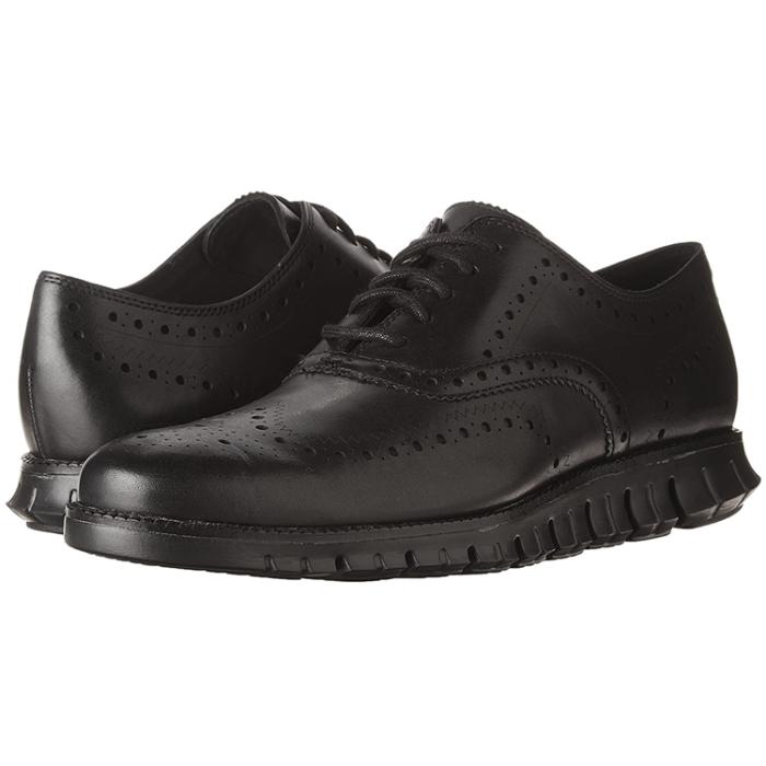 Plaid Lace-Up  Men's Oxford Leather Shoes