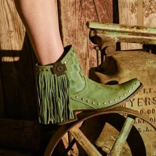 Women Casual Retro Stylish Boots