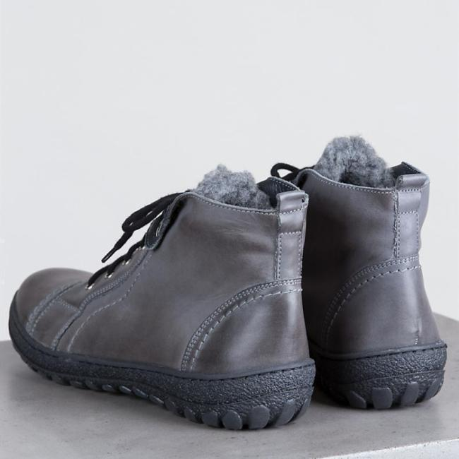 Women's Artificial Leather Ankle Boots