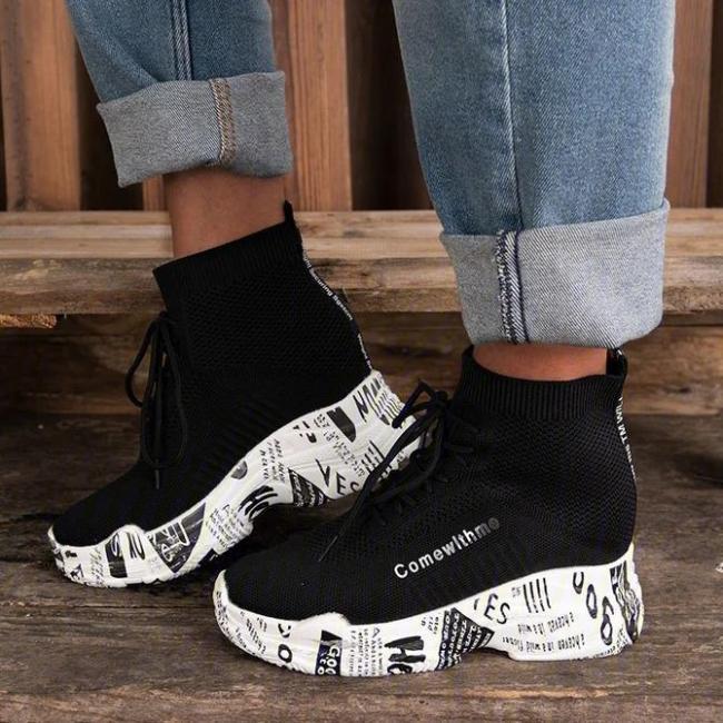 All Season Seaside Fabric Sneakers