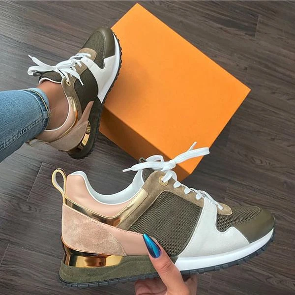 Women Comfy Lace Up Sneakers