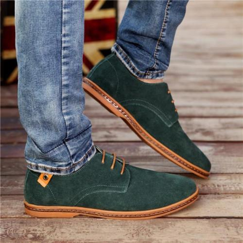 Men Casual Suede Leather Shoes