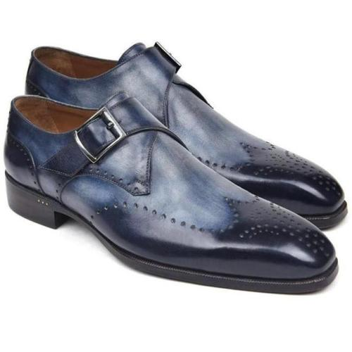 Men's Business Oxford Casual Monk Shoes