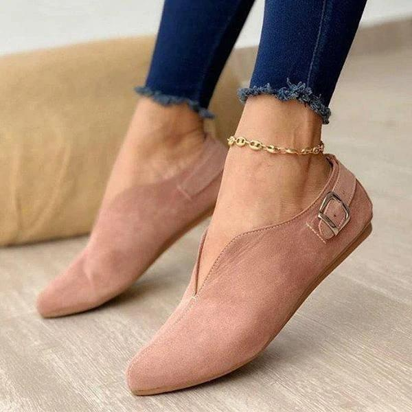 Women Casual Daily Comfy Slip On Loafers