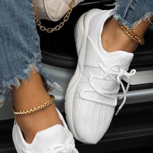 Flat Heel Daily All Season Sneakers